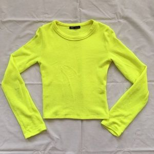 Neon Crew Neck Sweater